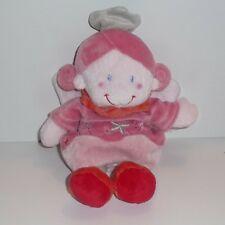 Doudou Poupée Kiabi - Rose rouge
