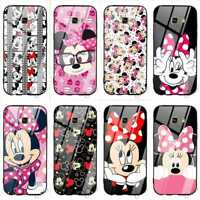 Cute Cartoon Animal Glass Case Cover for Samsung S9 S10 S8 Plus S7 Edge Note 9 8