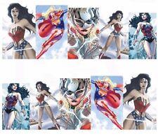 Nail Art de transferencia de agua Pegatina Calcomanías Pegatinas Superheroes Mujer Maravilla (DB340)