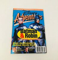 Disney Adventures Magazine june 30,1987 batman and robin edition