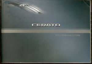 Betriebsanleitung CERATO KIA MOTORS   Handbuch Ausgabe 2005