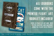 The Flight Logbook 2-Deck Playing Cards (Folio and Art Booklet)