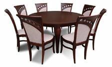 Esstisch + 8 Stühle Esszimmer Set Essgruppe Runder Rund Tisch Tische Neu Z26