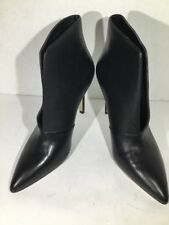 Aldo Drima Womens Size 9 Black Leather Ankle High Heels Boots Shoes ZM-1629