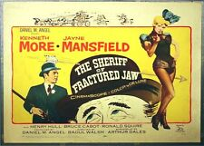SHERIFF OF FRACTURED JAW - 1959 orig Rolled 22x28 movie poster - JAYNE MANSFIELD