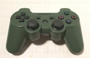 OEM Sony Playstation 3 PS3 Dualshock Controller Jungle Green Genuine TESTED RARE