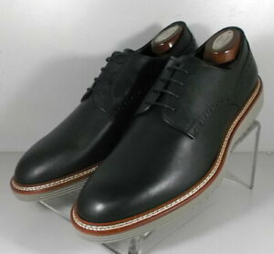 242155 PFi60 Men's Shoes Size 8 M Black Leather Made in Italy Johnston & Murphy