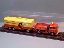 Brekina 78202 MAN Zugmaschine 10212 CIRCUS KRONE & 3-Achs WC Anhänger NEU & OVP