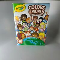 Crayola Colors Of The World Coloring Activity Book LOT OF 5  -Brand New
