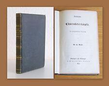 Riehl Musikalische Charakterköpfe 1853 Lortzing EA top Biografie Leben Musiker