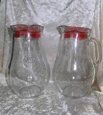 Krug mit der Blume des Lebens  1,85 Liter  mit Deckel und 6 Gläsern
