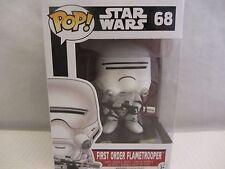 "Funko Pop! FIRST ORDER FLAMETROOPER 4"" Star Wars  #68 vinyl Figurine (1215SH)"