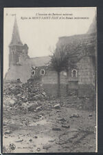 France Postcard - Eglise De Mont-Saint-Eloi Et Les Ruines Environnantes T7467