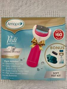 AMOPE PEDI PERFECT BONUS KIT - $60 VALUE - NEW IN PKG.