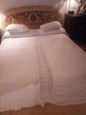 Copertina,coperta, antica in cotone e uncinetto,granny square,vintage 300x300