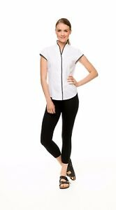 Cheap and Best Cap Sleeve Shirt for Women Spa uniform workwear Free Post AU