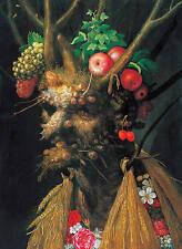Giuseppe Arcimboldo The Four Seasons Painting Surreal Fine Art Real Canvas Print