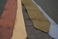 Lot of 5 DKNY Neckties -- incredibly cheap price! Grab it! D3
