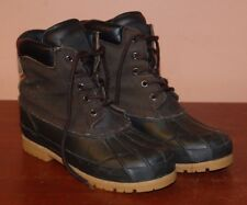Leather Boots Duck Brown Mens 6 Womens 7 North Pass Boots Steel Shank Lined