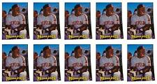 (10) 1993 Sports Card Review Prime Pics #1 Albert Belle Card Lot Indians