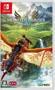 New Nintendo Switch Monster Hunter Stories 2 Wings of Ruin Japan HAC-P-AS44A