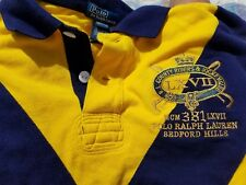 Ralph Lauren Polo #2 1967 Riders And Jockey Club Rugby Shirt boys 14 Men's Small