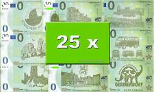 25 verschiedene MEMO Euro Souvenierscheine - Starterset