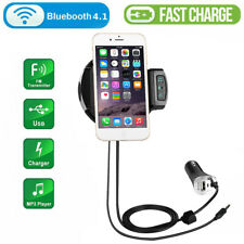 Bluetooth Car FM Transmitter MP3 Player Hands free Radio Adapter USB Charger BP