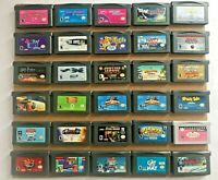 Nintendo Gameboy Advance Games Pick and Choose Tested & Working Ships Free/Fast!