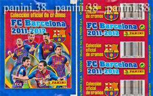 "RARE !! Pochette ""FC BARCELONA 2011-2012"" packet, tüten, bustina PANINI"