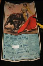 CARTEL CORRIDA TOROS PEDRES PACO CAMINO Y EL PIREO, TININ LINARES, HELLIN 1964