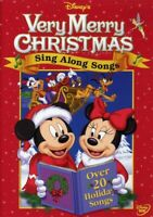 Disney Sing Along Songs: Very Merry Christmas DVD NEW