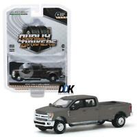 GREENLIGHT 46030 F 2019 FORD F-350 DUALLY DIECAST TRUCK 1:64 - Stone Gray