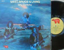West, Bruce & Laing ORIG OZ LP Why dontcha EX '72 Cream Mountain Hard Rock