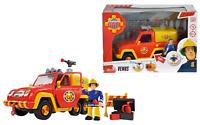 Fireman Sam Fire Engine VENUS With Movable Figure ELVIS Simba Brand New