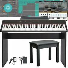 V2 Artesia PA88H Weighted 88 Key Electronic Digital Piano Keyboard Deluxe Bundle