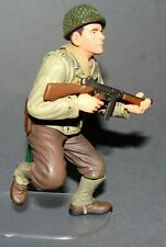 1:18 Dragon WWII U.S Army Infantry Thompson Machine Gunner D-Day Action Figure