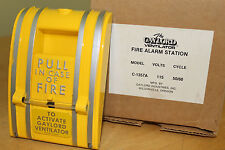 GAYLORD VENTILATOR FIRE ALARM STATION C-1357A – YELLOW