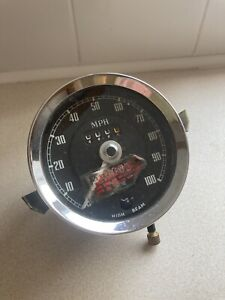 "MG Midget Speedometer 1969 - 1973 - Smiths - Unused / New ""Old"" Stock"
