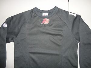 Black Embroidered Frisco Rough Riders AAA Baseball Thermal Base Jersey Youth M