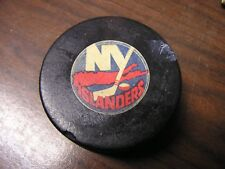 VINTAGE NEW YORK ISLANDERS VICEROY GAME HOCKEY PUCK