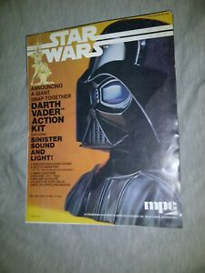 STAR WARS DEALER FLYER AD 1978 MPC GREAT SHAPE 8.5X11