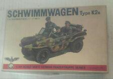 1/48 Bandai 1st Issue Ww2 Schwimmwagen K2s Model Kit