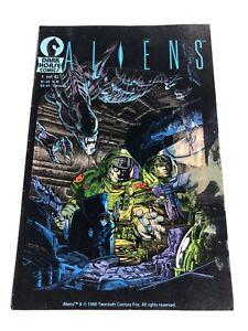 Aliens 1 1st Print 1988 1st Appearance Dark Horse Comics!