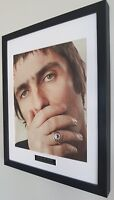 Liam Gallagher OASIS Framed Original NME Plaque Certificate V RARE-Unique