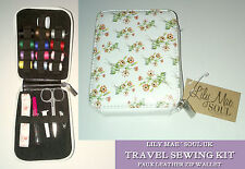 SEWING KIT WALLET Needles Ripper Tape Thread VINTAGE DAISY Soul Travel GIFT SET