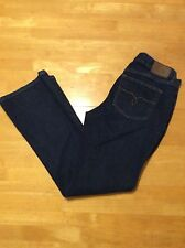Ralph LAUREN JEANS CO Premium Dark Blue Stretch JEANS Contemporary Bootcut 6