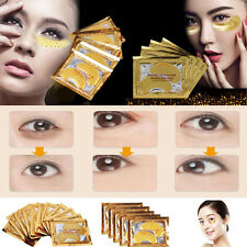 5/10pairs Crystal Gold Gel Collagen Under Eye Patches Mask DARK CIRCLES WRINKLES