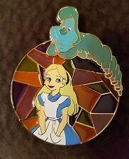 Disney pins Alice In Wonderland Fantasy Pin stain glass