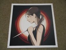 BUFFY THE VAMPIRE SLAYER square poster print CRAIG DRAKE
